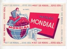 Buvard - Matelas Mondial