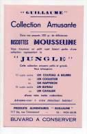 Buvard - Guillaume - Biscottes, Mousseline, Jungle - Biscottes
