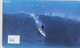 Telecarte Sport SURFING Surfen *  (64)  * TELEFONKARTE PHONECARD - Sport