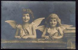 AK     ANGEL   ENGEL   REAL PHOTO POSTCARD   1906 - Anges