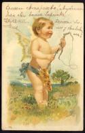 AK     ANGEL   ENGEL       LITHO   1903 - Anges