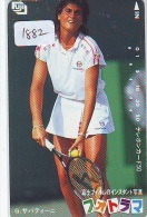 Télécarte Japon * Sport * TENNIS (1882)  Gabriela Sabatini * PHONECARD JAPAN * TELEFONKARTE - Sport