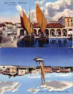 DESENZANO LAGO DI GARDA BRESCIA 2 CARTOLINE ANNO 1920/30 - Brescia