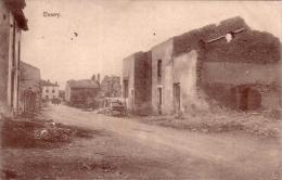 Alte AK  ESSEY /M.-et-M.  - Teilansicht Vom Zerstörten Ort - 1915 Gelaufen - Frankrijk
