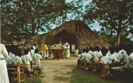 Ghana 1950s/60s St Teresa's Seminary Elmina, Ghana, Amisano Printed In Miami - Ghana - Gold Coast
