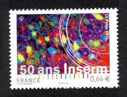 France 2014 - Yv N° 4886 ** - 50 Ans Inserm - Ongebruikt