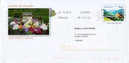 PAP Mirabelle De Lorraine Illustré Jardins Fruitiers De Laquenay - Voyagé - Postal Stamped Stationery