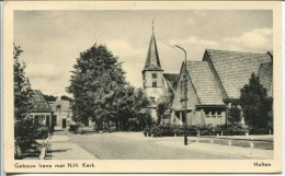 Netherlands -  HOLTEN, Gebouw Irene Met N.H. Kerk - Holten