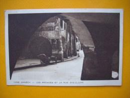 Cpa   ANNECY  -  74  -  Les Arcades Et La Rue Ste Claire -  Haute Savoie - Annecy-le-Vieux