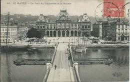 Le Havre (76) - Le Pont Du Commerce Et La Bourse - Le Havre