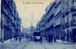 ESPAGNE VIGO CALLE DE COLON 41TRAMWAY - Espagne