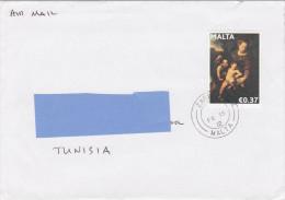 Z2] Enveloppe Cover Malte Malta Peinture Painting Madonna Madonne Religion - Malte
