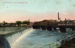 Lawrence  - Mass.  - Lawrence Dam  - - Lawrence