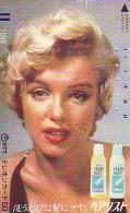 MARILYN MONROE (288) FRONTBAR BALKEN  *  Telecarte Japan Phonecard Cinema Film Movie Kino - Film