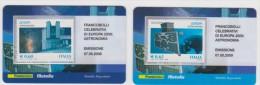 """2009 - ITALIA -  2 TESSERE FILATELICHE   """"EUROPA 2009 ASTRONOMIA"""" - 6. 1946-.. Republic"""