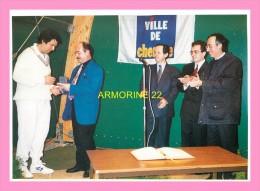 CPM  CHENOVE   1994 INNOGURATION DU 1ER COURT COUVERT DE TENNIS DU CLUB - Chenove