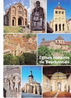 BOURBONNAIS, Eglises Romanes (Allier), Châtel-Montagne, St-Léger D'Ebreuil, Souvigny, Chantelle, Bourbon-L'Archimbault.. - Autres