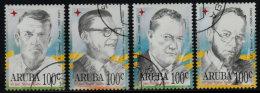 ~~~ Aruba 1996 - Famous Persons- NVPH 171/174 (o) Used  ~~~ - Antillen