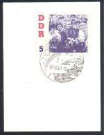 Germany Deutschland DDR 1961 Card Stck.: Space Weltraum; Astronaut Cosmonaut Titov Visit In Der DDR; Rocket Cancellation - FDC & Gedenkmarken