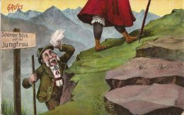 SCHONSTER BLICK AUF DIE JUNGFRAU SEXY HUMOR UMORISTICA 1925 - Humour