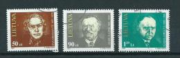 1997 Litouwen Complete Set Famous Persons Used/gebruikt/oblitere - Lithuania