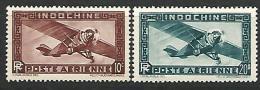 INDOCHINE PA N° 46/47  NEUF* TTB - Indochine (1889-1945)