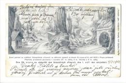 11162 - Dne 24 Srpna Na Vystavisti De Zeleznicnich Zfizencu Dne 1 Zafi Den Strojvudcu Volyne 12.08.1902 - Tchéquie