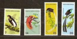 Papouasie Et Nouvelle-Guinée Papua 1973 Yvertn° 238-41 *** MNH  Cote 20 Euro Oiseaux Vogels - Papouasie-Nouvelle-Guinée