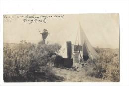 11166 - Henry Marak Campeur Tchèque Dans Le Désert Du Sud De L'Arizona En 1916 - Scoutisme