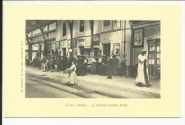 PUYOO , 25 Minutes D' Arrêt , Buffet , Reproduction D'une CPA ANIMEE - France