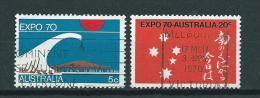 1970 Australia Complete Set Expo Used/gebruikt/oblitere - 1966-79 Elizabeth II