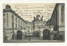 Bruxelles : Palais Comte De Flandre - Avenues, Boulevards