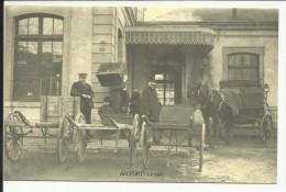 BELFORT , La Gare , Reproduction D´une CPA ANIMEE - Belfort - Ville