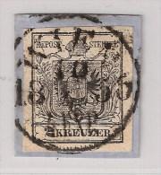 Österreich, Nr. 2, Luxus-Briefstück, Zentrischer Stempel!  , #1302 - 1850-1918 Empire