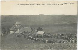 15 - SAINT-HIPPOLYTE - Fête Des Berger à La Font-Sainte - Le Repas - Autres Communes