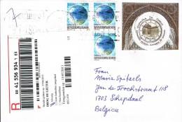 Spain 2011 - Postal Cover Mijas Costa - Schepdaal (Belgium)  Belgium  Patrimonio Mundial Alhambra De Granada - 2011-... Brieven