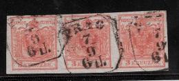 Österreich, Nr. 3, Einheit  ,gute Erhaltung  #1304 - 1850-1918 Empire
