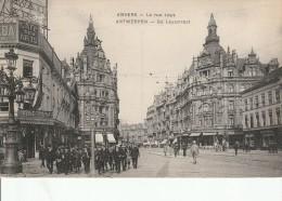 BELGIQUE - ANVERS - LA RUE LEYS - BELLE ANIMATION - Antwerpen