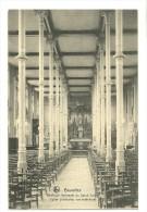 Koekelberg : Basilique Nationale du Sacr� Coeur  : Eglise provisoire. Vue int�rieure