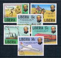 Liberia 1979 Hill Mi.Nr. 1098/103 Kpl. Satz Gestempelt - Liberia
