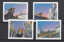 2013 danemark neuf n� 1722/25 �crivain christian andersen : conte : timbre adh�sif