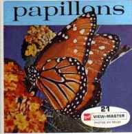VIEW MASTER Papillons (photo En Relief) - Visionneuses Stéréoscopiques