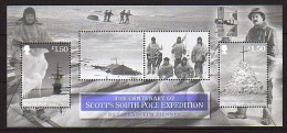 2012 man neuf ** bloc n� 94 exp�dition au pole sud : robert falcon scott : iceberg : bateau