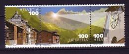 2012 suisse neuf ** n� 2169/71 architecture : horloge : clocher : soleil