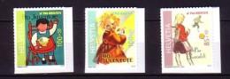 2012 suisse neuf ** n� 2198/2200 du carnet : affiche : poup�e : chaise : football : timbre adh�sif