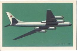 CPM - TUPOLEV T.U.95  / 1959 - Edition Carte PUB Chocolats TOBLER - 1946-....: Moderne