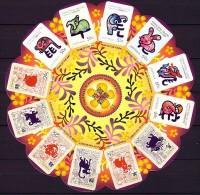 2013 chrismas neuf ** n� F 751 ann�e lunaire du serpent : signe du zodiaque chinois