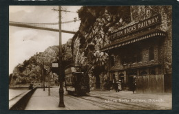 ROYAUME UNI - ENGLAND - BRISTOL - CLIFTON Rocks Railway , Hotwells (tramway ) - Bristol