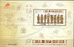 2010 macao neuf ** bloc n� 203 art sacr� : statue des huit immortel