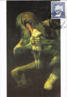 11188. Tarjeta Maxima TOLEDO  1996. Pintor Goya, Saturno Devorando A Su Hijo - Cartoline Maximum